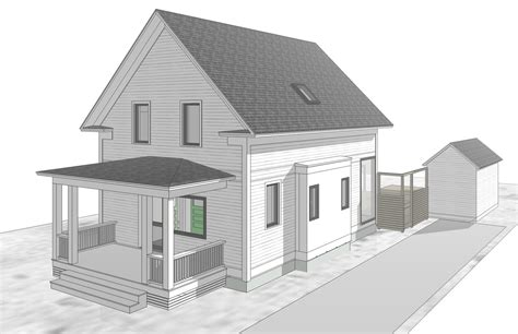 Drawing House Design Modern House, Autocad Modern Homes