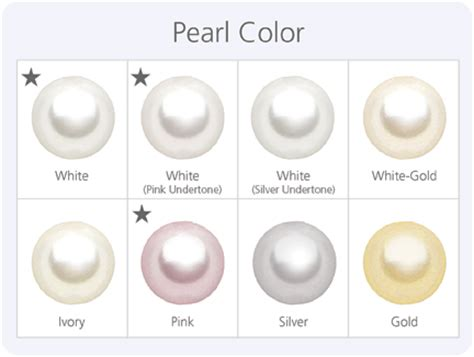 pearl colors pearl quality education