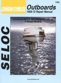 Manual Book Service Repair For Johnson Evinrude Outboard