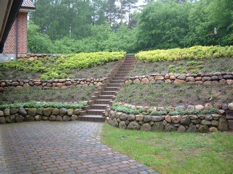 Garten Am Hang Ideen Bilder by Die Besten 25 Gartengestaltung Hanglage Ideen Auf