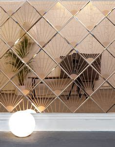 mirror wall panel pleat mirror  afroditi krassa