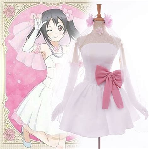 Anime Idol Dress Compare Prices On Nico Wedding Dress Shopping Buy