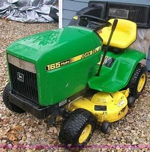 John Deere 165 Hydro Lawn Mower