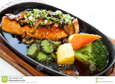 japanese fusion cuisine japanese fusion food stock image image 31198311