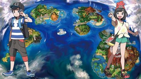 Pokémon Sun & Moon Exibem A Região De Alola E Lendários Em