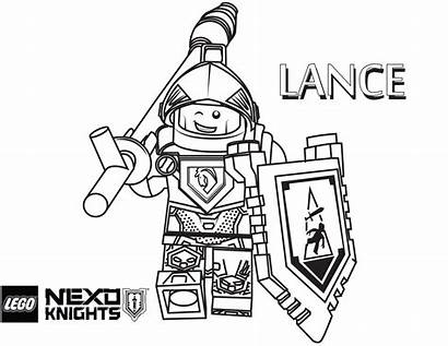 Lego Coloring Knights Pages Nexo Knight Sheets