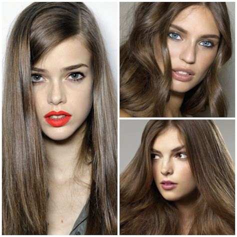 cool brown hair color stylenoted light cool brown hair