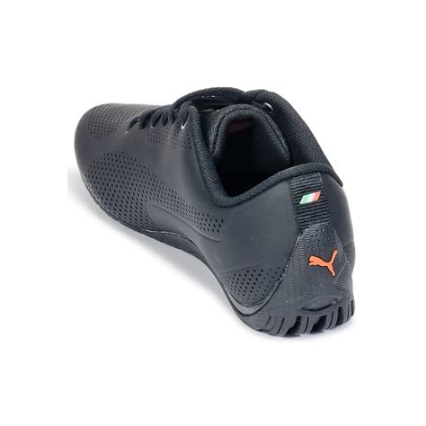 The trainers should be light and easy to wear. PUMA Leather Drit Cat Ferrari Men's Shoes (trainers) In ...