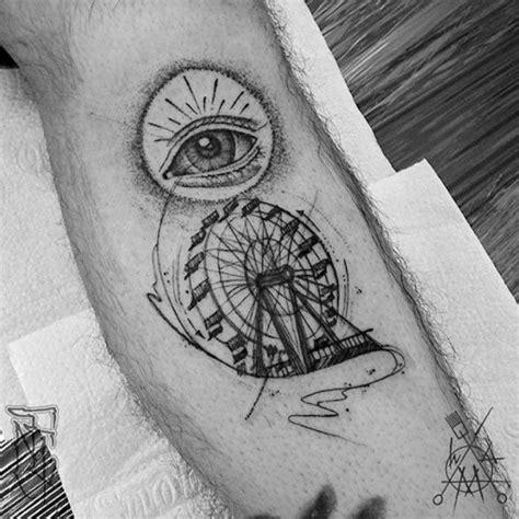 Watercolor Tattoos Tree ferris wheel tattoo  tattoo ideas gallery 510 x 510 · jpeg