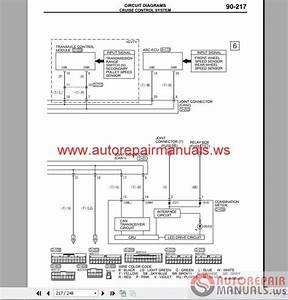 Auto Repair Manuals  Mitsubishi Mirage 2015 Wiring Diagrams