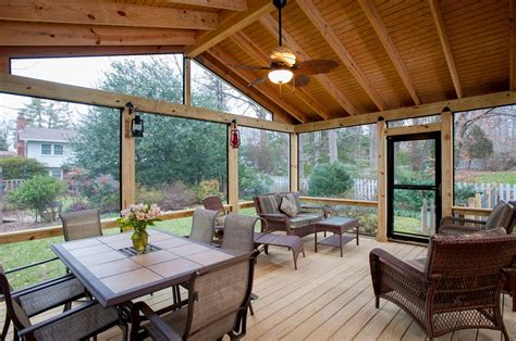 screen porch design cost