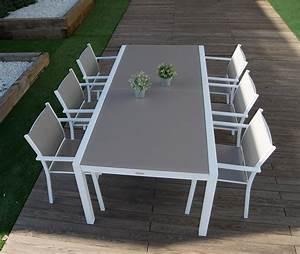 salle a manger de jardin cologne champagne ensemble table With salle a manger de jardin