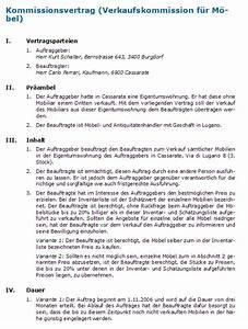 Auf Fremde Rechnung : kommissionsvertrag rechtssicheres muster zum download ~ Themetempest.com Abrechnung