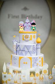 Its a Small World Cake