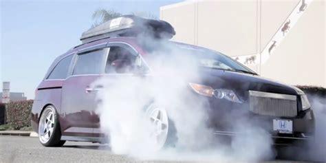 hp honda odyssey minivan roast  tires