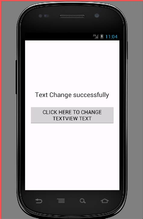 android text change textview text programmatically in android android