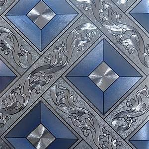 beibehang KTV gold silver square papel de parede 3d ...