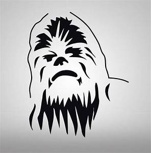 CHEWBACCA Star Wars Decal WALL STICKER Art Home Decor ...