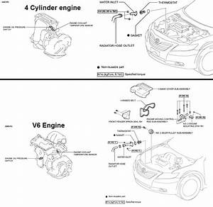 P0116 2009 Toyota Camry Engine Coolant Temperature Circuit