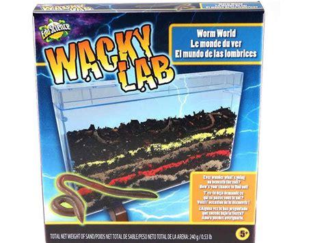 worm lab wacky