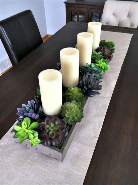 Dining Room Centerpiece Ideas Candles by 25 Best Ideas About Dining Table Centerpieces On