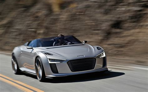 First Drive Audi E Tron Spyder Concept Photo Gallery