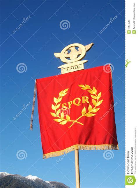 roman standard stock photo image  leaders identity