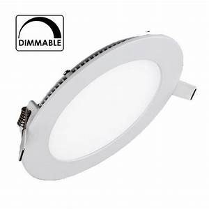 Spot Encastrable Extra Plat : spot encastrable downlight led 4w blanc chaud extra plat ~ Edinachiropracticcenter.com Idées de Décoration