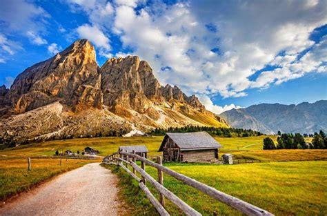 beautiful village scenery wallpaper hd wallpaper