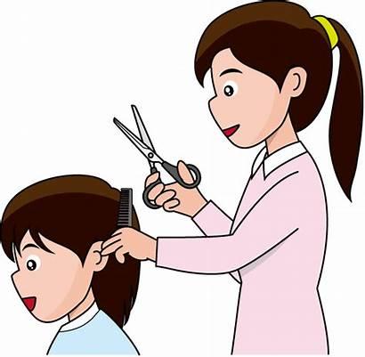 Haircut Clipart Hair Cut Hairdresser Short Styles