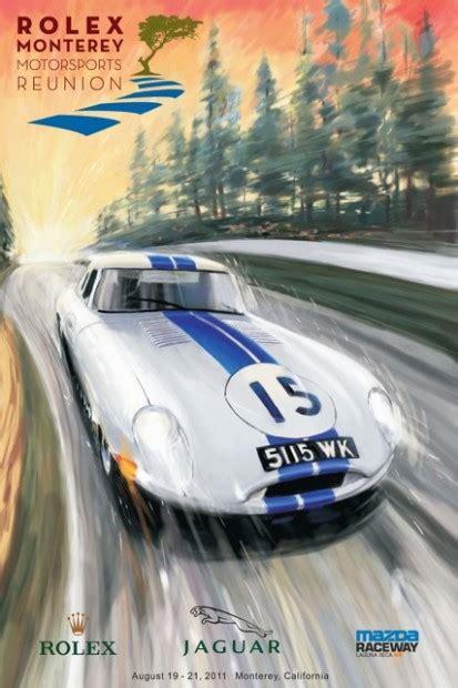 monterey motorsports reunion  official poster art