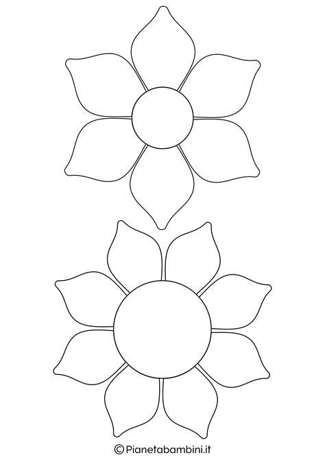 immagini di da stare e colorare incantevole disegni fiori da colorare per bambini con