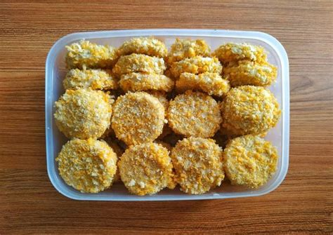 Resep nugget ayam paling enak (the most delicious chicken nugget recipe) подробнее. Resep Nugget Ayam KW Fiesta Berasa Ayamnya 😆 oleh Devi ...