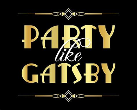 quot like gatsby sign quot posters by rasaaa redbubble