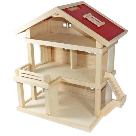 puppenhaus holz selber bauen villa freda puppenhaus stadtvilla aus holz mit 3 real