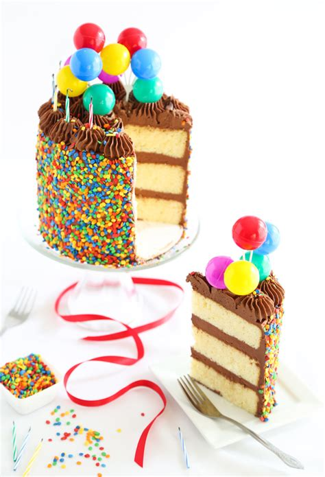 The Birthday Cake!  Sprinkle Bakes