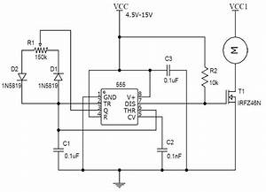 Speed Controller Using 555
