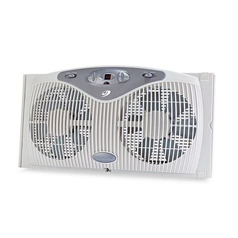 window fans for sale bionaire remote control twin window fan bed bath beyond