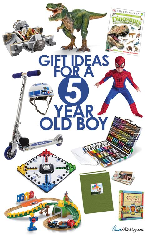 Toys For A 5 Year Old Boy  House Mix