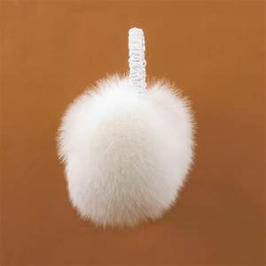 ear muffs real fur, fox ear muffs