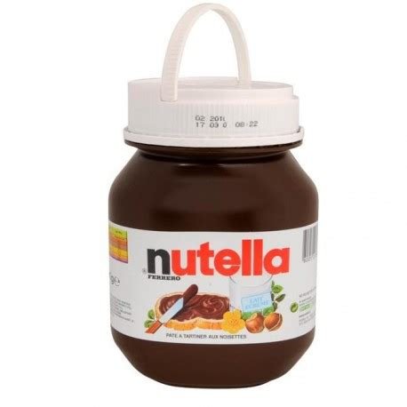 nutella 5 kg magasin du chef