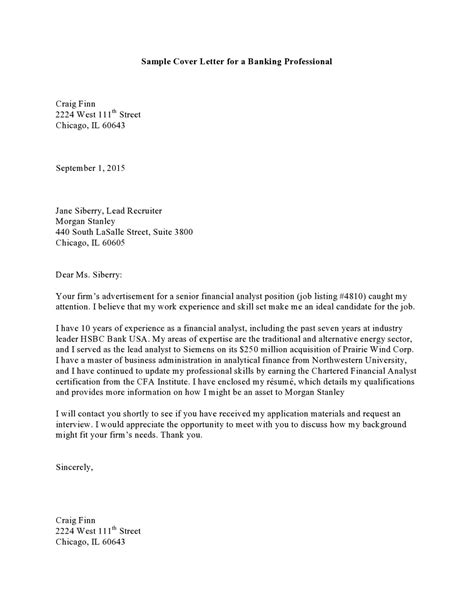 Cover Letter Template by Cover Letter Professional Sle Pdf Templates