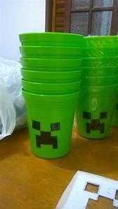 Copo Para Sua Festa Tema Minecraft YouTube