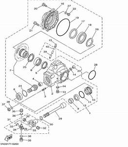 Yamaha Grizzly 600 Parts Diagram