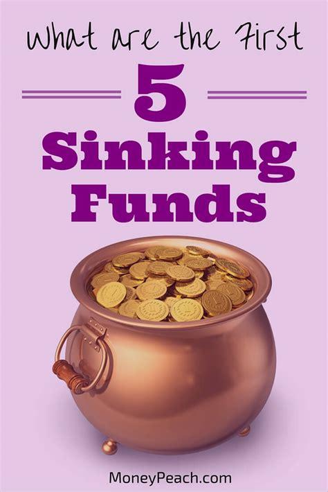 define sinking fund bond start with these 5 sinking funds money