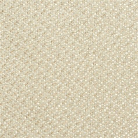 Ivory, Tweed Damask Upholstery And Drapery Grade Fabric By