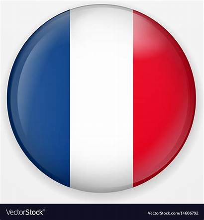 Flag French Icon France Round Clipart Button