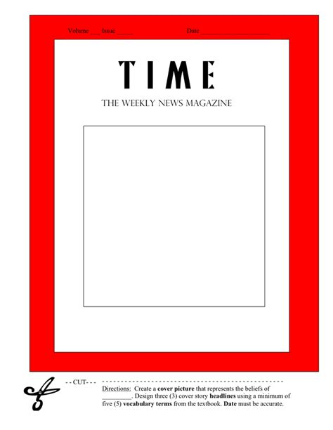 magazine cover template   documents
