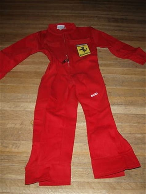 ferrari toma boys xs mechanic outfit jumpsuit pants
