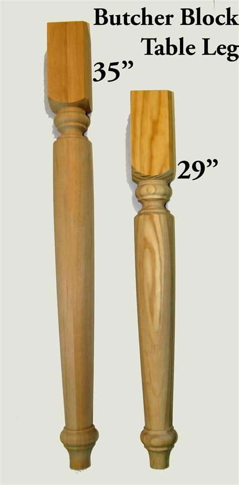 Butcher Block Table Legs  Capitol City Lumber